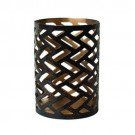 WoodWick Petite Candle Holder Herringbone