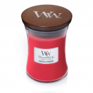 WoodWick Radish & Rhubarb Medium Jar Candle