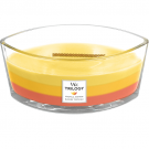 WoodWick Tropical Sunrise Trilogy Ellipse Hearthwick Jar Candle
