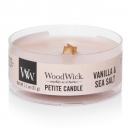 WoodWick Vanilla & Sea Salt Petite Candle