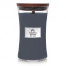 WoodWick Indigo Suede Large Jar Candle