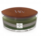 WoodWick Mountain Trail Trilogy Ellipse Hearthwick Jar Candle