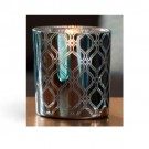 Yankee Candle Savoy Votive Holder - Blue Pattern