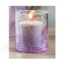 Yankee Candle Savoy Votive Holder - Purple Pattern