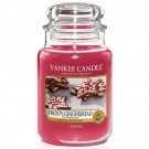 Yankee Candle Frosty Gingerbread Large Jar