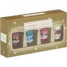 Yankee Candle Holiday Sparkles 4 Votive Gift Set