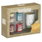 Yankee Candle Holiday Sparkle - 4 Votives & 1 Holder Gift Set