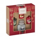 Yankee Candle Alpine Christmas 1 Small Jar & 3 Votives