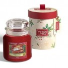 Yankee Candle Magical Christmas Morning Medium Jar Gift Sset