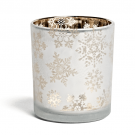 Yankee Candle Snowflake Frost Votive/Tea Light Holder Large