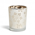 Yankee Candle Snowflake Frost Votive/Tea Light Holder