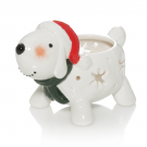 Yankee Candle Snowman Tea Light Holder Dog