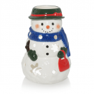 Yankee Candle Snowwoman Tea Light Holder Small