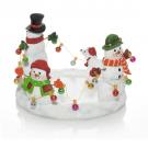 Yankee Candle Snowman Jar Holder