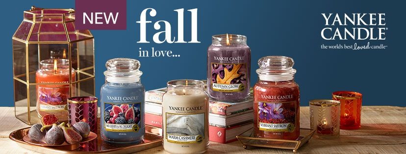 Yankee Candle Fall in Love Serie